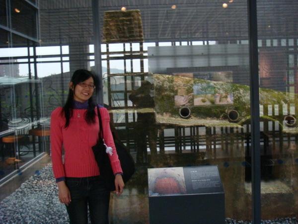 97.12.29和大姑姑到鶯歌陶瓷博物館參觀