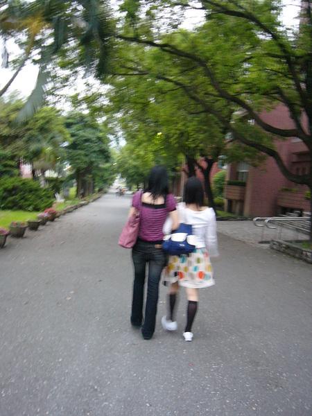 花師是我所有母校中~最想常常回去晃晃的母校