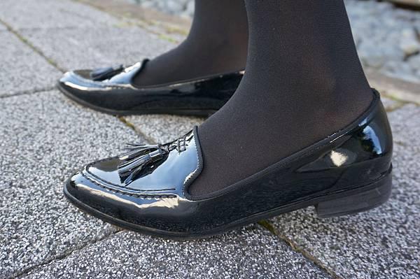 小流蘇漆皮樂福紳士鞋