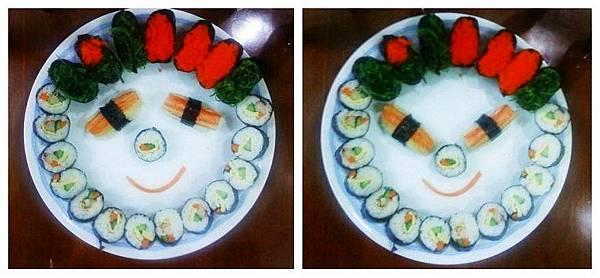 寿司的表情