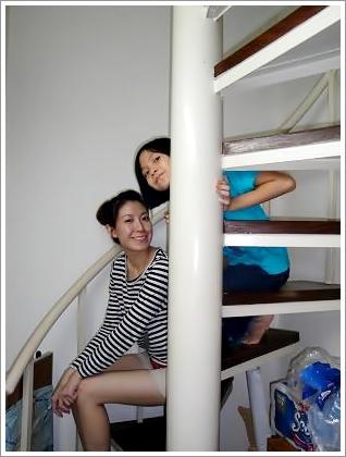 喜歡這個小階梯