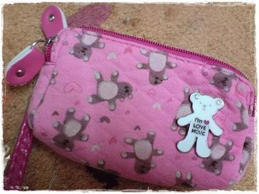 零錢包。pink