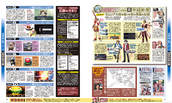電擊PS Vol.565 軌跡系列10週年企劃