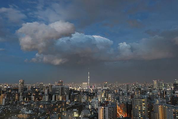 晴空塔夜景黃昏夕陽文京區展望台-4.jpg
