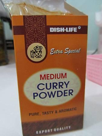 本次的主角:印度來的咖哩粉