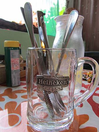 餐具們,用啤酒杯裝好豪邁!