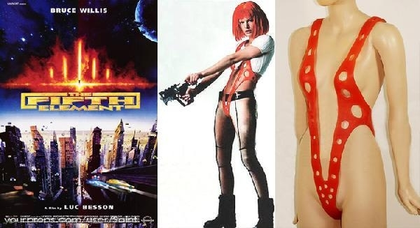 The-Fifth-Element-5th-Original-Milla-Jovovich-Screen-Worn-Leeloo-Suspenders-Costume-1