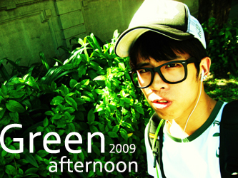 green afternoon