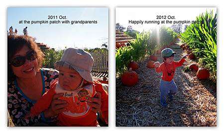 Andre at the pumpkin patch