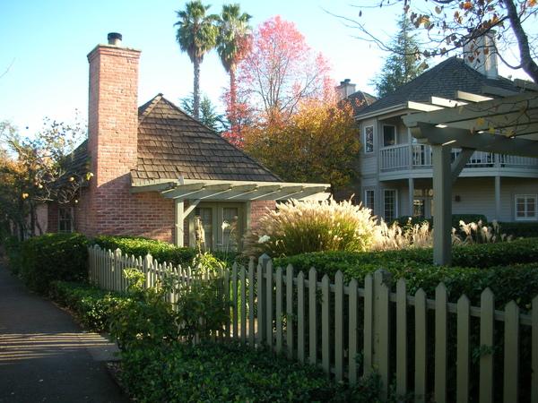 Cottage inn in Yountville