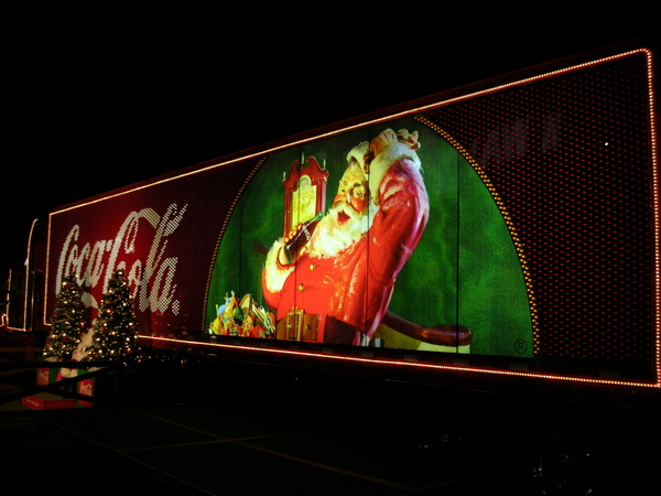 Santa in Walmart