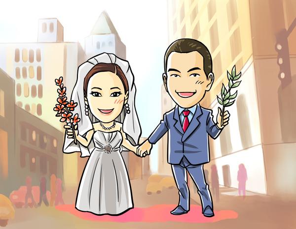 YA wedding