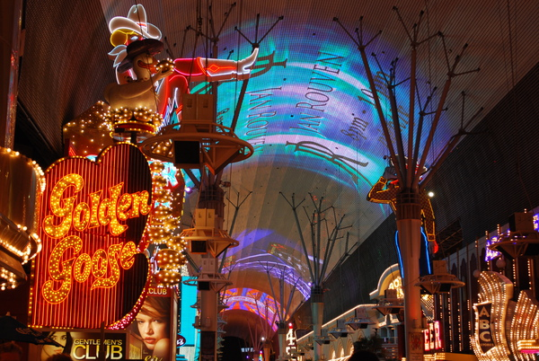Vegas old town- Fremont St. Experience