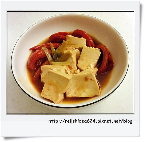 蕃茄燉豆腐