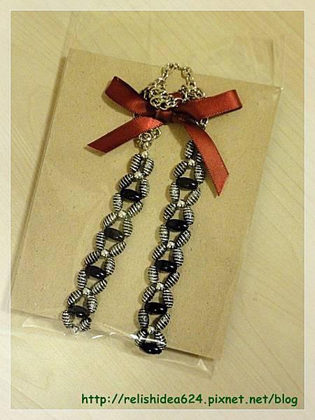 設計款串珠長鍊包裝