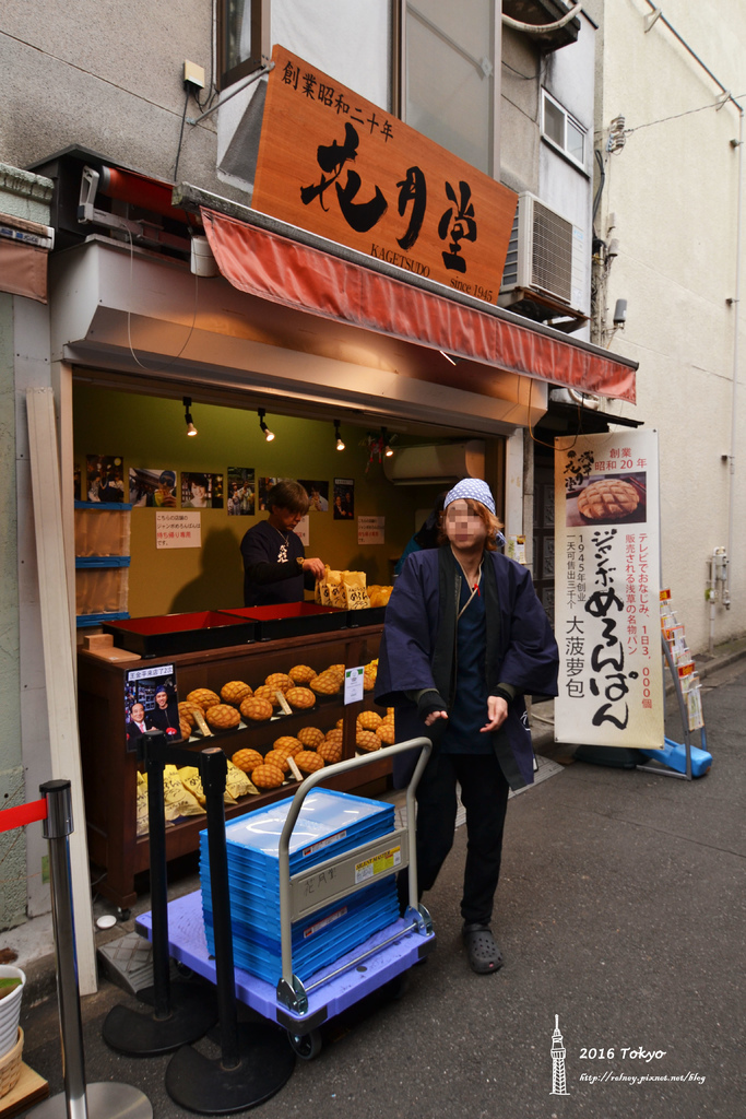 [日本] 2016 東京:晴空塔 利久牛舌、淺草 雷門 仲見世通
