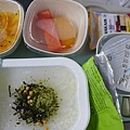 大韓航空上的早餐