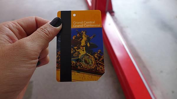 MetroCard-中央車站百年紀念款