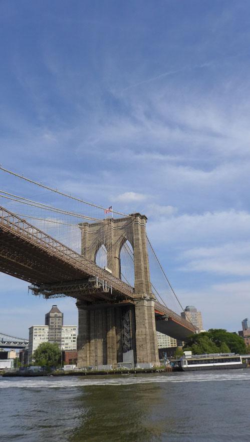 遙望布魯克林大橋