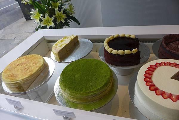 千層蛋糕特別有名
