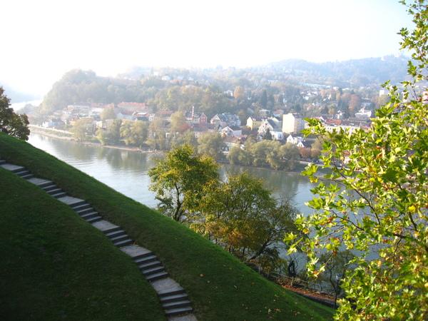 下方就是多瑙河