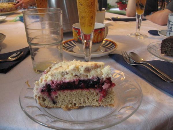 Christine家的自製蛋糕