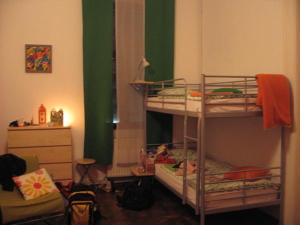 今晚住的Fluxus Hostel