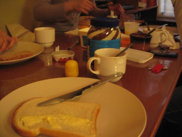hostel的早餐
