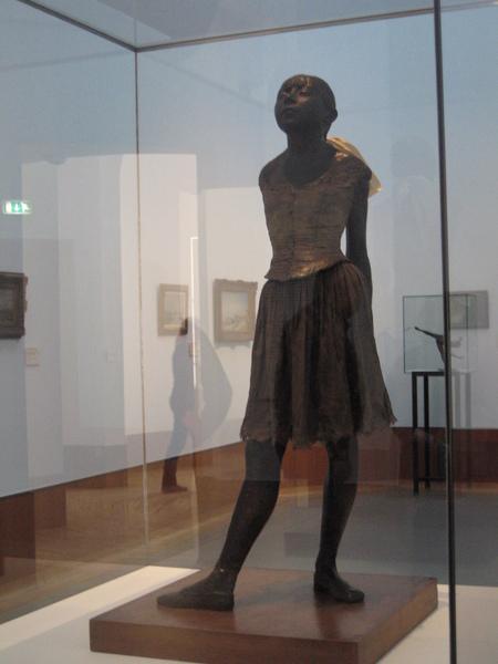 竇加的雕塑
