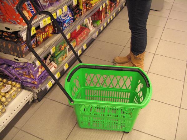 超市的籃子