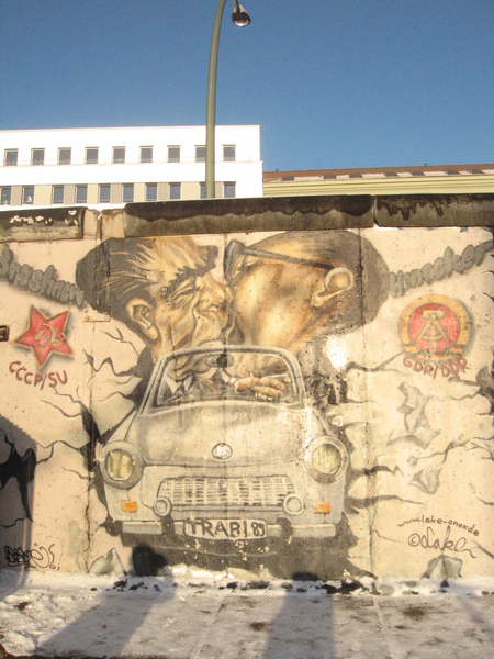 是柏林圍牆的遺跡