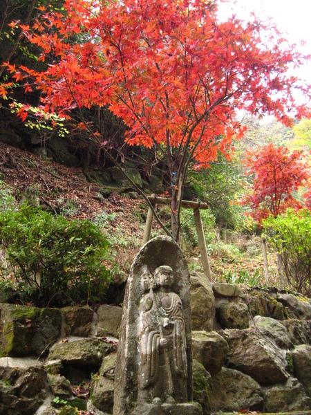 IMG_0044 紅葉和地藏王菩薩.JPG