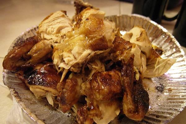 Patio附近的烤雞