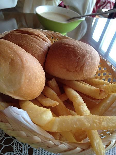 附餐餐包&薯條