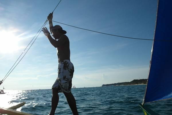 掌控風帆的Beach Boy