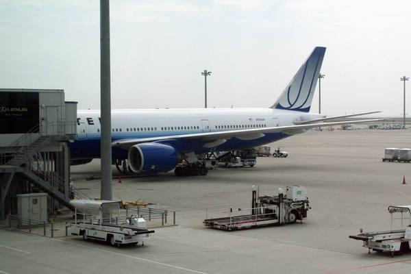 我們搭的UA班機