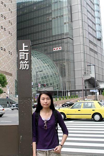 走出大阪城就到了NHK跟歷史博物館