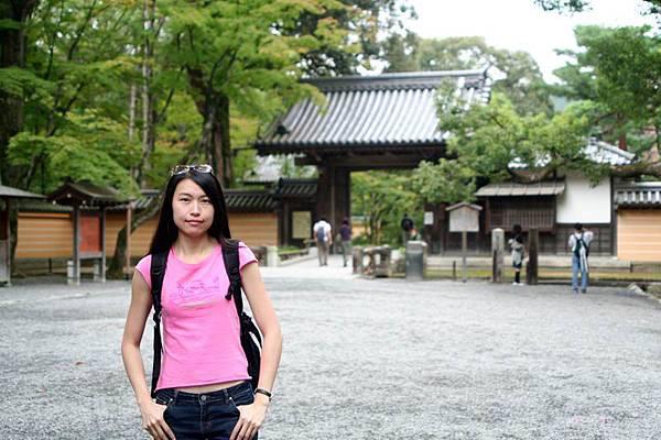 銀閣寺入口處