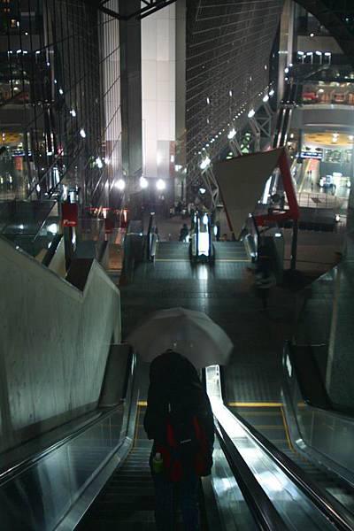 從11樓俯視京都車站