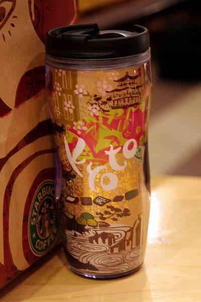 買了京都的星巴客杯