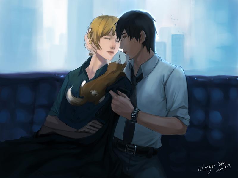 禁止親吻!