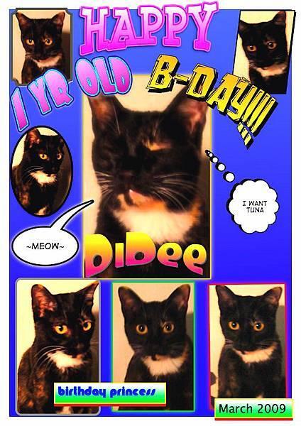 happy bday DiDee~!11