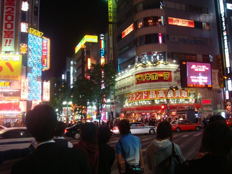回家路上會經過 Shinjuku