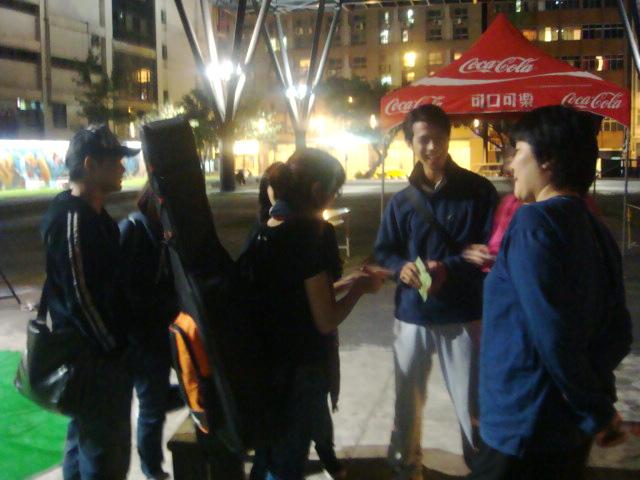 skot suyama & 庭竹 街頭表演