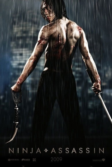 "Rain's Hollywood Debut ""Ninja Assassin"""