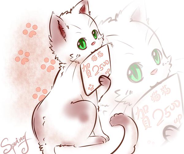 泉泉贈圖TO貓