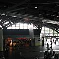 台南站扶梯上鳥瞰