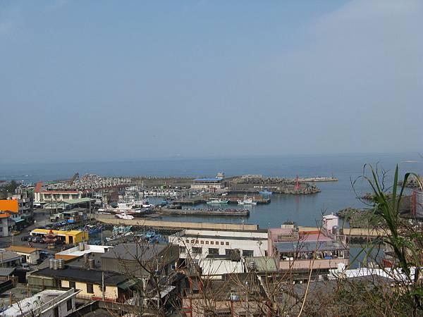 遠眺外木山漁港