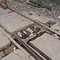 疑似廢棄的道岔設備