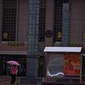 上次來台北也是這種暗天氣